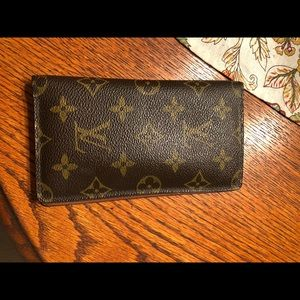 Authentic luv wallet